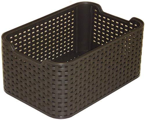 Curver Style, Caja Organizadora, Marrón (Dark Brown), 28x19x13