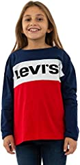 Camiseta Levis Dropped Colorblock Niño