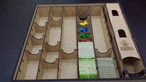 Caixa Organizadora para Carcassonne - Bucaneiros Jogos