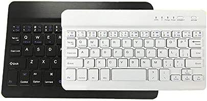 FFDDZJJ D nne bewegliche Mini drahtlose Bluetooth Tastatur f r Tablette Laptop Smartphone iPad Unterst tzungs-IOS-Androides System-Telefon-Universalit t Zollschwarzes