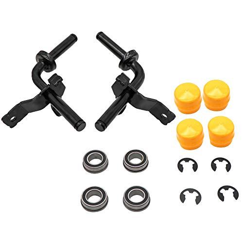 kipa GY22251BLE GY22252BLE Steering Spindle Kit for John Deere LA100 LA105 LA115 LA120 Lawn Mower Tractors, Replace MPN GY21049BLE, GY21050BLE, Durable