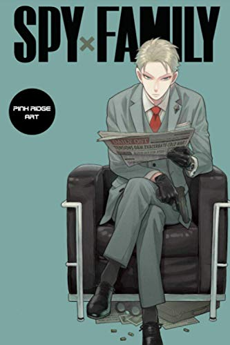 Composition Notebook: Spy x Family V.1 Anime Journal/Notebook, College Ruled 6' x 9' inches, 120 Pages