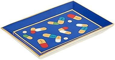 Jonathan-Adler Full Dose Rectangular Tray - Blue