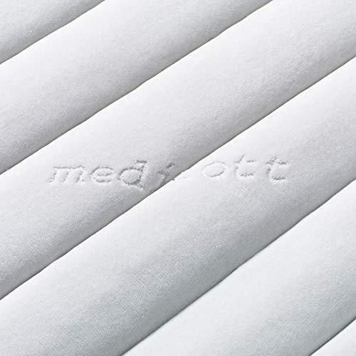 Premium Comfort Wasserbettbezug/teilbare Auflage - in Frottee Medicott®/Samicott Qualität - alle Größen - z.B. 200x220 cm