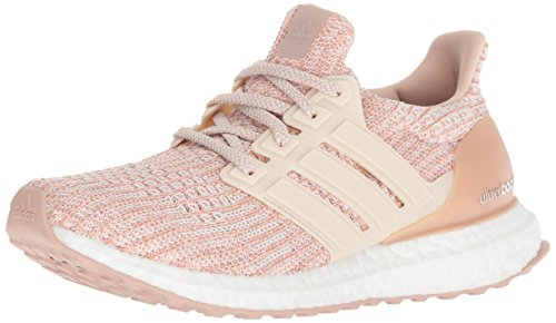 adidas Women's Ultraboost, ash pearl/linen/clear orange, 10 M US