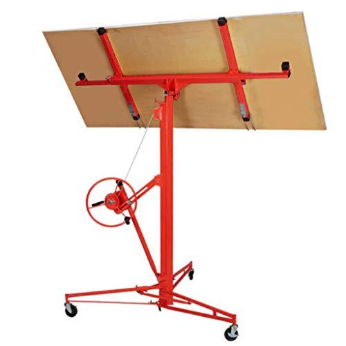 FITOOM Professional Series 16 Foot Drywall & Panel Lift Hoist (red)