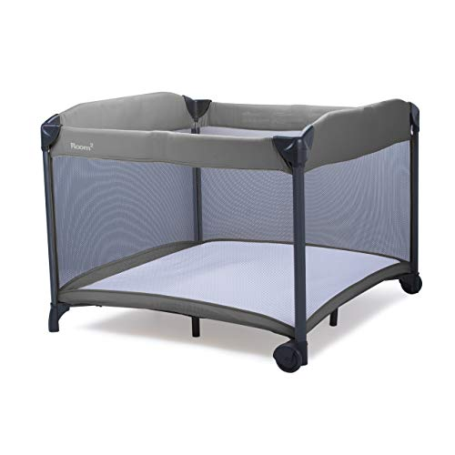 Joovy New Room2 Portable Playard, Charcoal