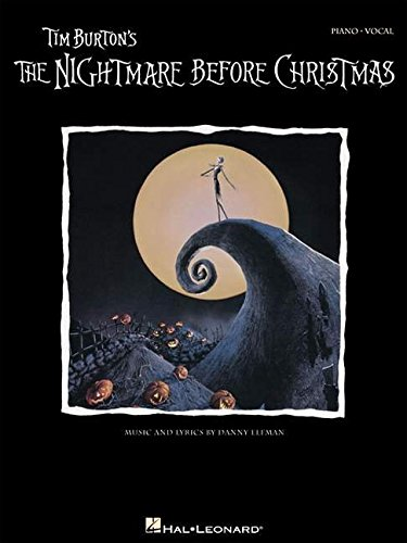 Tim Burton's The Nightmare Before Christmas: Songbook für Gesang, Klavier (Gitarre): P/V/G (Piano Vocal Series)