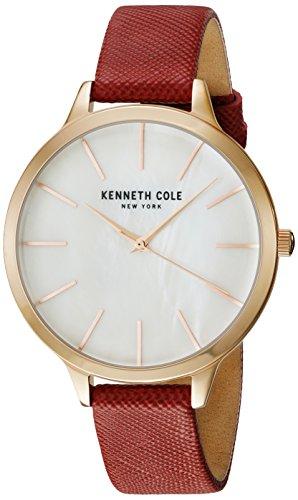Kenneth Cole New York Mujer Reloj Reloj de pulsera piel kc15056004