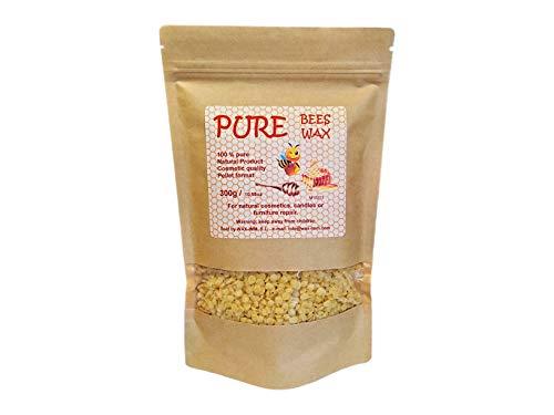Cera de abeja pura 300g en perlas