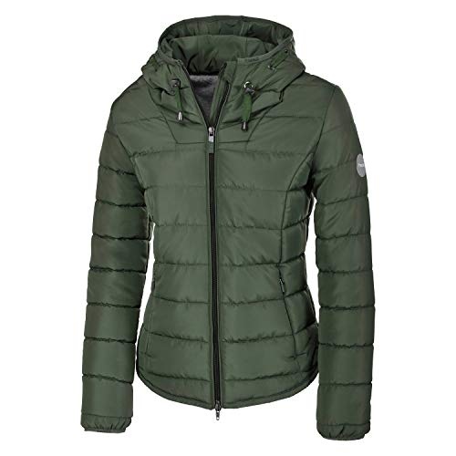 Pikeur Damen Steppjacke Selma Classic Collection Herbst-Winter 2019/2020, Thyme, 40