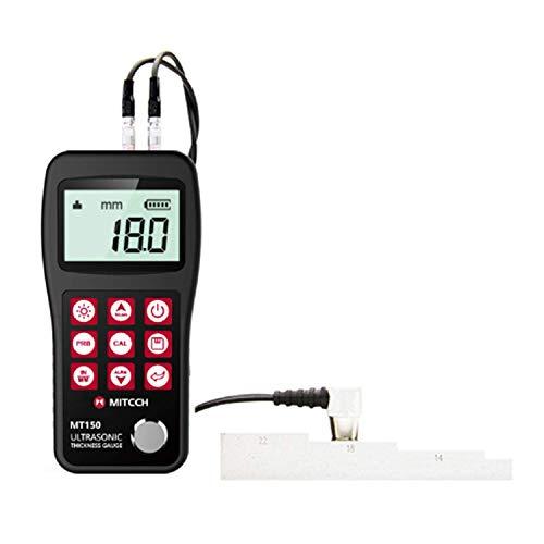 ZJN-JN Détecteur d'épaisseur à ultrasons jauge compteur MT150 haute précision portable jauge d'épaisseur à ultrasons numérique OLED Indicateurs de mesure