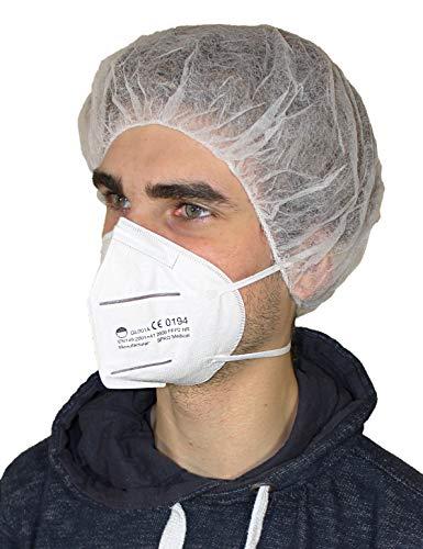 Medi-Inn+ FFP2 Atemschutzmaske ohne Ventil EN 149:2001+A1:2009 CE 0194 (20)