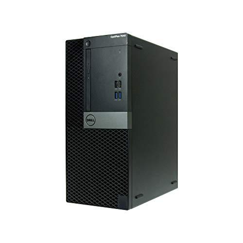 OptiPlex , Core i7-6700 3.4GHz, 16GB RAM, 480GB Solid State Drive, DVD, Windows 10 Pro 64bit, (RENEWED) - Dell 7040-T