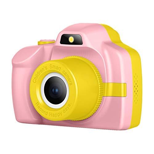 P20 HD Contactcamera voor kinderen Digitaal speelgoed Kan foto's maken Fotografische videoflits/filter / mp3 / grote stickers - roze