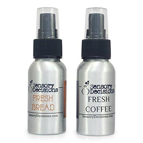 Sensory Decisions Pane e Caffè Fragranza Pack - L'odore di pane fresco e caffè - Camera