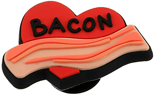 Crocs Food Shoe Charm | Personalize with Jibbitz, Bacon, Small