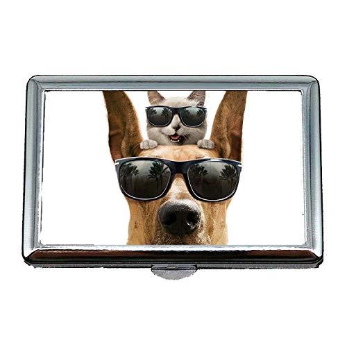 Cigarette Case,Hunting Dog Animal,Credit Card Holders Case