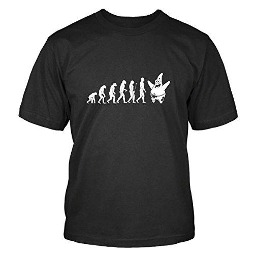 Patrick Star Evolution T-Shirt Size L