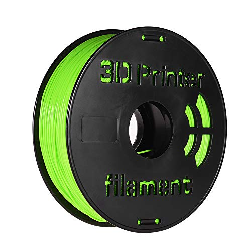1.75mm Filament,Entweg 1KG/ Spool 1.75mm Flexible TPU Filament Printing Material Supplies White, Black, Transparent for 3D Printer Drawing Pens Apple Green