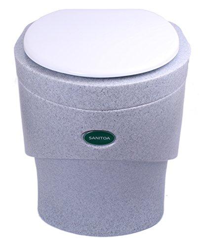Separett Weekend Trenntoilette granit ohne Lüfter (Komposttoilette geruchsfrei)