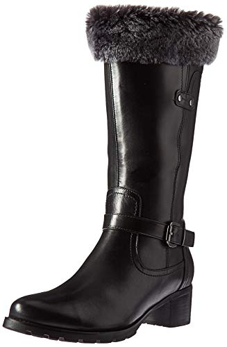 Blondo Women's Flavia Fashion Boot, Black Leather, 12 M US