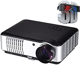 Play 5000 Lumens Android Full HD Smart WI-FI, HDMI, USB Portable 1920 x 1080P Home Theatre 3D Led Projector(Black)