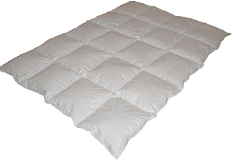 Coussin gratuit (1380 gr ) + Couverture chaude 60% Remplissage de duvet 1200 gr Couverture en duvet de lit, couverture piqué, coussin 135x200 cm