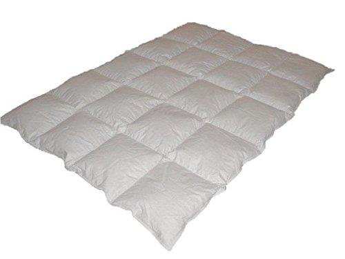 135x200cm 600 Gr DAUNEN Federn Sommer Decke Füllung Bettdecke Zudecke Kassetten Steppbett Steppdecke NEU&OVP