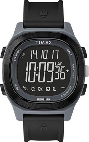 Timex Herren Digital Uhr mit Harz Armband TW5M19000