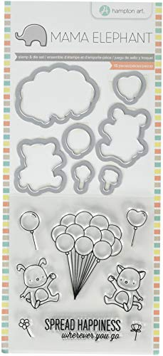 Mama Elephant Clear Stamp/Die