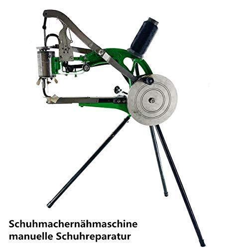 DOMINTY Máquina de Coser Calzado de Piel, máquina de Coser de Metal, máquina de Coser Especial, máquina de Calzado, máquina de Coser Manual, reparación de Zapatos