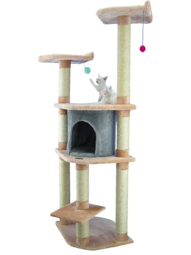 Armarkat Cat Tree Model A6401, Blanched Almond