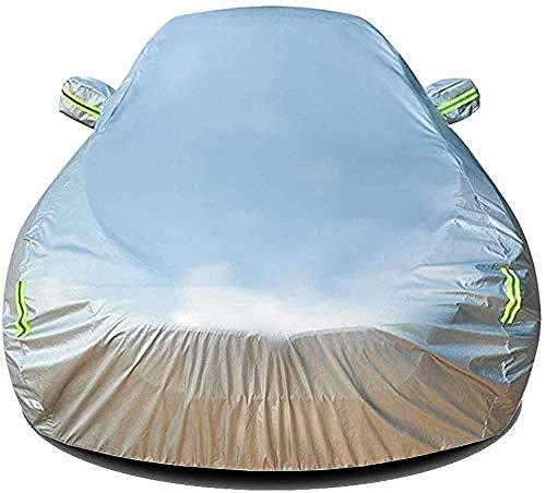 BNGS - Funda para coche compatible con Lexus GS, resistente al viento, al polvo, a prueba de rayos UV, protección contra todo tipo de clima (color: plata)