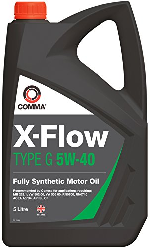 Comma XFG5L X-Flow Type G 5W-40 synthetische motorolie 5 L