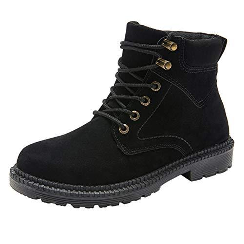 Cardith Herren Classic Basic Stiefel Im Freien Arbeiten Sie mit niedrigen Absätzen Schnürschuhe Prämie Arbeitsschuhe