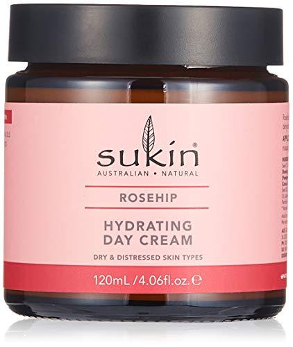 Sukin Rosehip feuchtigkeitsspendende Tagescreme, Hydrating Day Cream, 120 ml