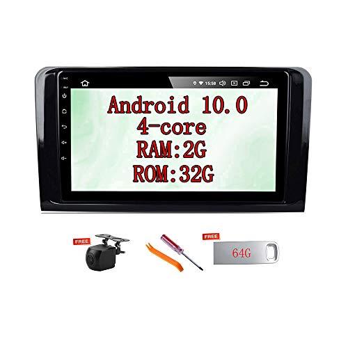 XISEDO for Mercedes-Benz ML-Class W164 ML300/ML350/ML450/ML500/ML320/ ML63 AMG;GL X164 GL320/GL350 Android 10.0 Car Stereo 9' in-Dash Head Unit Car Radio GPS Navigation (10.0)