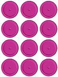Tapes4you Fichas de repuesto para Looping Louie & Looping Chewie Chips Hasbro (12 unidades), color magenta