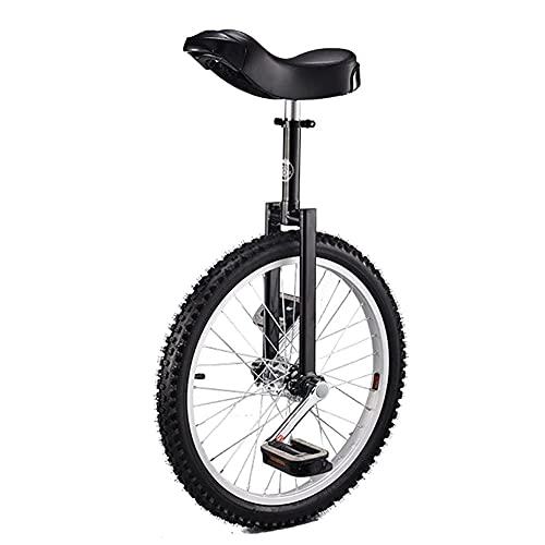 aedouqhr para Adultos, Monociclo con Ruedas de 20 Pulgadas, un Ciclo, Equilibrio, Ejercicio, Divertido, Bicicleta, Fitness, Scooter, Circo, Asiento Ajustable, Cargas 150 kg / 330 Libras (Color