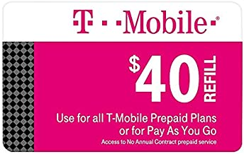 T-Mobile $40 top up Automatic Refill (Provide Phone Number to be refilled)
