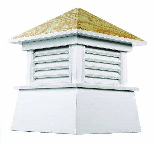 Good Directions Kent Vinyl Cupola with Wood Roof 18