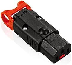 電源コネクタ 抜け防止機能付き IEC LOCK+ REWIREBLE