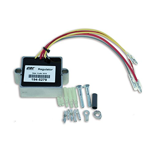 CDI Electronics 194-5279 Mercury/Mariner Voltage Regulator - 2/3/4/6 Cyl (1989-2006)