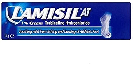 Lamisil AT 1% Foot Cream, 15 g