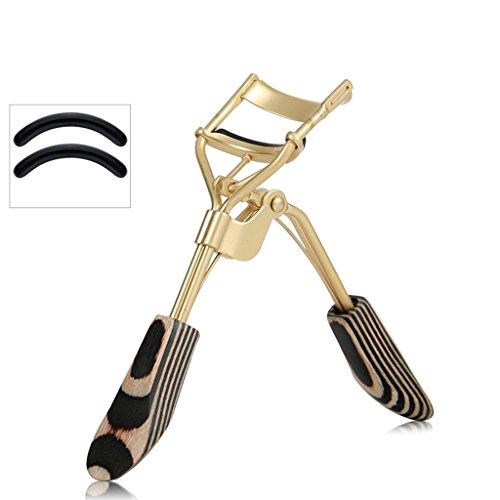 Recourbe-cils en Acier Inoxydable, curl Durable, Outils de Maquillage de paupière Clip Portable, Envoyer Tampon de Rechange