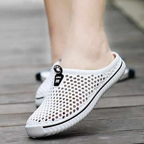 Chanclas Unisex Zapatos De Agujero Zapatos De Hombre Zapatillas De Verano Huecas Unisex Moda Al Aire Libre Transpirable Casual Pareja Sandalia De Playa Chanclas Zapatos Zapati