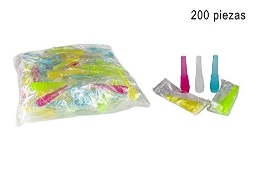 200 unidades de boquillas de higiénicas para cachimba - Boca para manguera de...