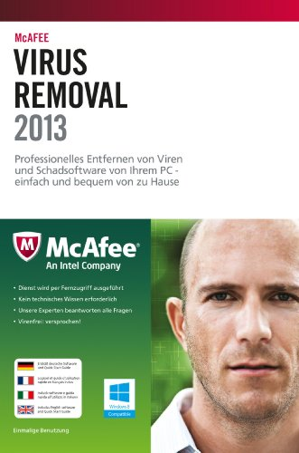 McAfee Virus Removal Service [import allemand]