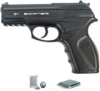 | Pack Pistola de balines (perdigones Bolas de Acero BB's). Arma de Aire comprimido CO2 Calibre 4,5mm <3,5J